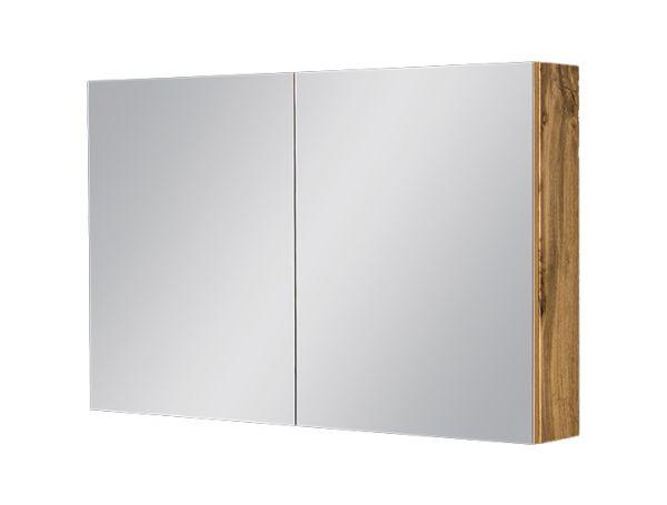 Spiegelschrank Breite 100 cm, Eiche Natur, SPS1062
