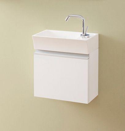 Waschplatz Faros 40, Ausführung graphit glänzend, FZ4010
