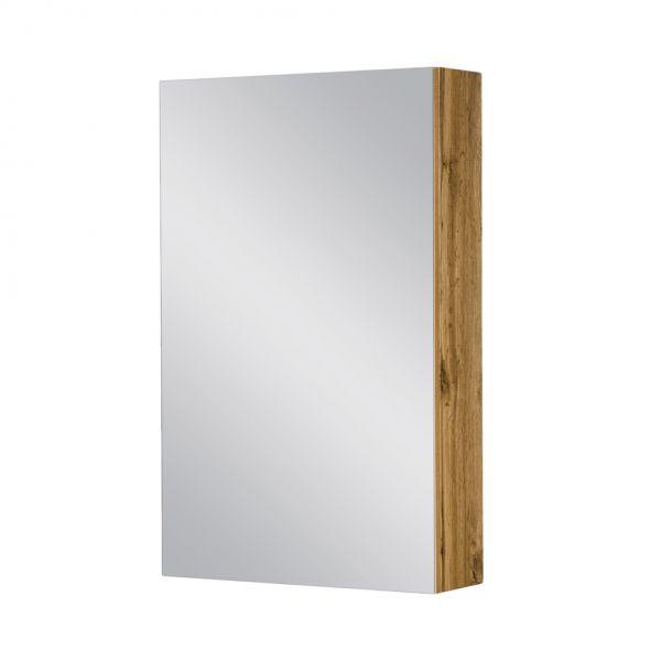 Spiegelschrank Breite 50 cm, Eiche Natur, SPS5062