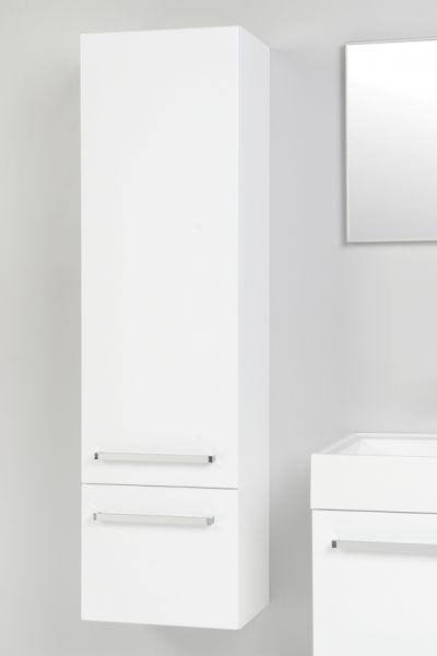 Aruva Hochschrank weiß glänzend, AR1010