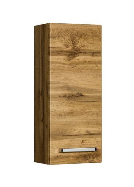 Badschrank Serena, Breite 30 cm, eine Türe, Eiche Natur, SA3062