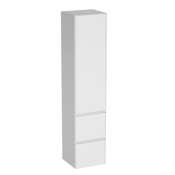 Badschrank Badmöbelserie Amira, Breite 35 cm, weiß, AM3510