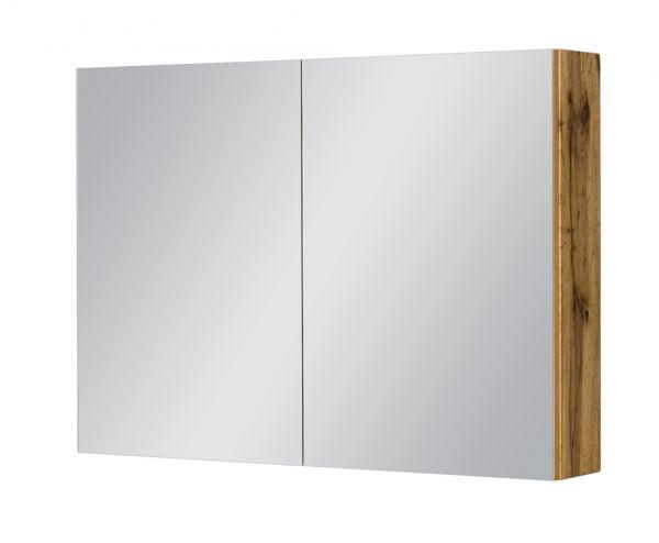 Spiegelschrank Breite 90 cm, Eiche Natur, SPS9062