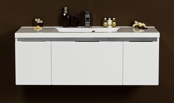 Waschplatz Vado 120, weiß glänzend, VA1247-E
