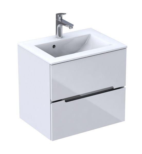 Waschplatz Sivas 60, weiß glänzend, SL1060