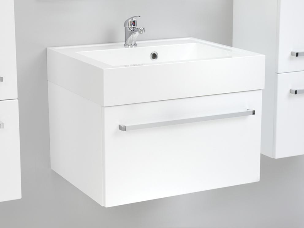 quentis waschplatz aruva breite 60 cm wei gl nzend. Black Bedroom Furniture Sets. Home Design Ideas