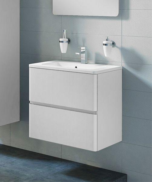 Waschplatz Amira, Breite 60 cm, weiß glänzend, AM6010