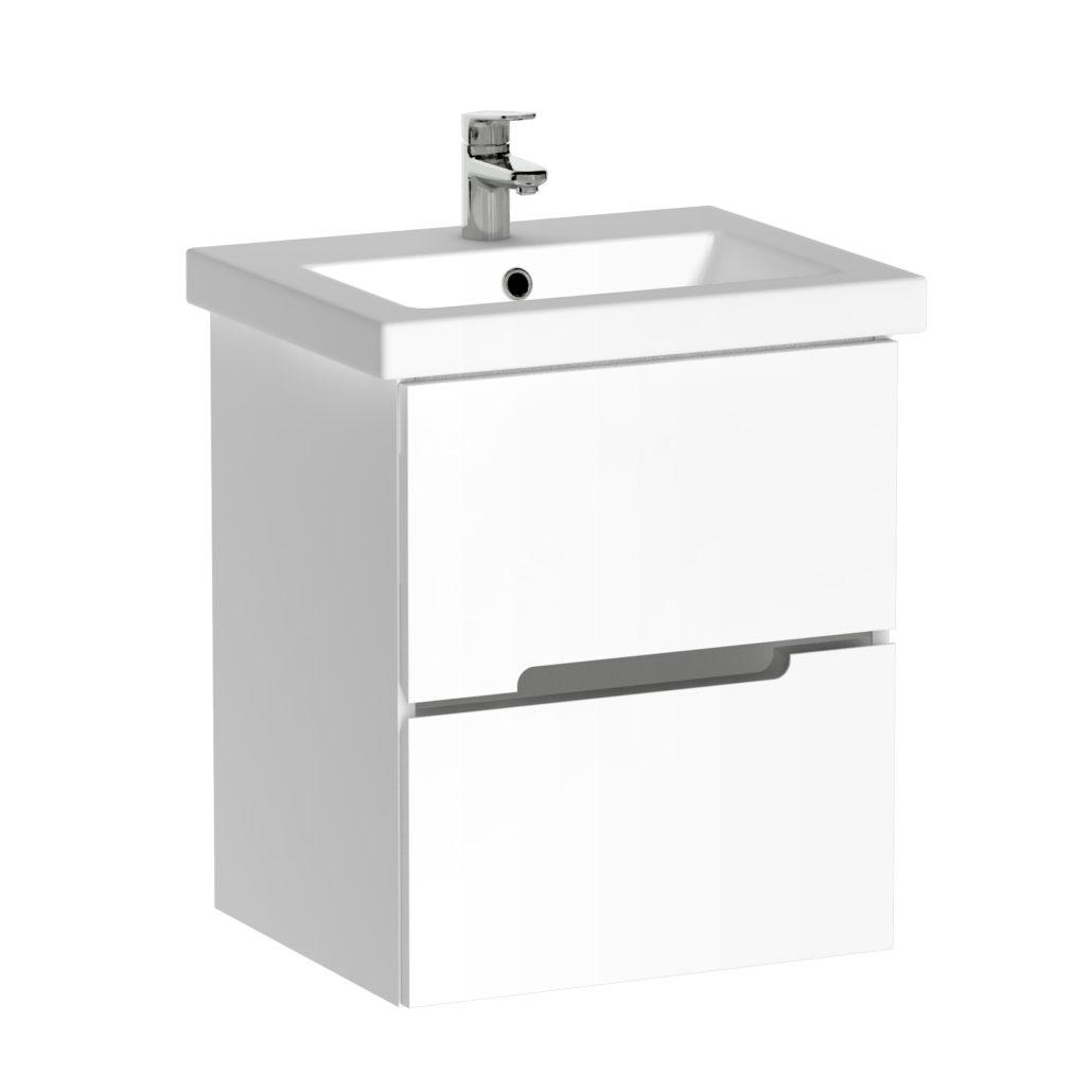 Quentis waschplatz sivas breite 50 cm weiss for Spülmaschine 50 cm breit