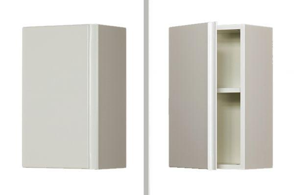Faros Hängeschrank weiß glänzend, Breite 30 cm, FZ3047
