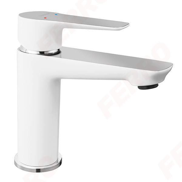 Waschtischarmatur ADORE von Ferro, chrom/ weiß (BDR2)