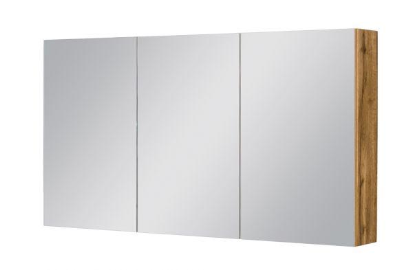 Spiegelschrank Breite 120 cm, Eiche Natur, SPS1262